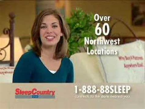 sleep country commercial actress jessica sleep country adjustable beds youtube