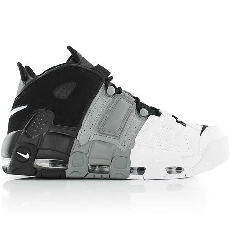 Sepatu Basket Air More Uptempo Bulls Black White nike air more uptempo blanc