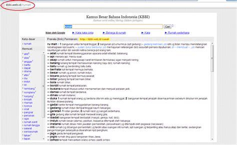 blogger kbbi kamus besar bahasa indonesia kbbi online ngangsu kaweruh