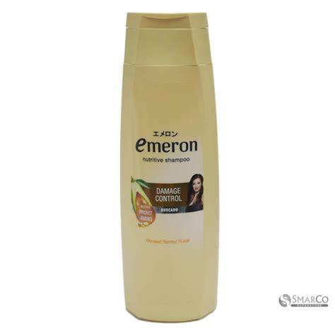 Shoo Emeron 270 Ml detil produk emeron shoo damage botol 340 1015060020138 8998866106238 superstore the