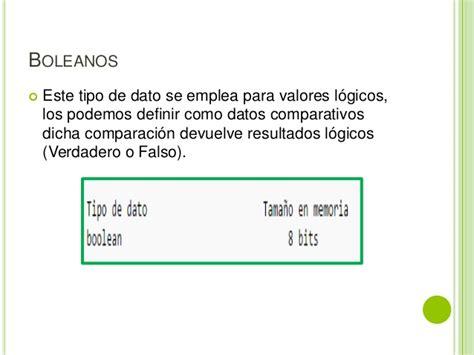 cadena numerica java presentacion tipo de datos java