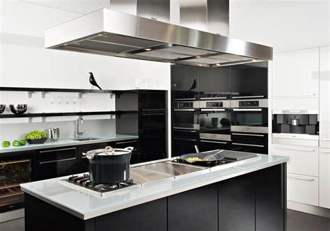 Cuisine Moderne Noir Et Blanche by La Cuisine Inspiration Cuisine