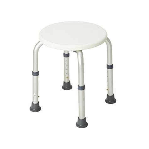 healthsmart compact shower stool with germ protection