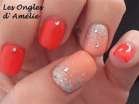 ongle en gel couleur les ongles d amelie