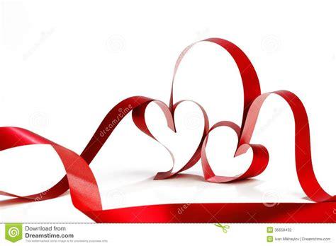 valentines day ribbon ribbons stock photography image 35658432