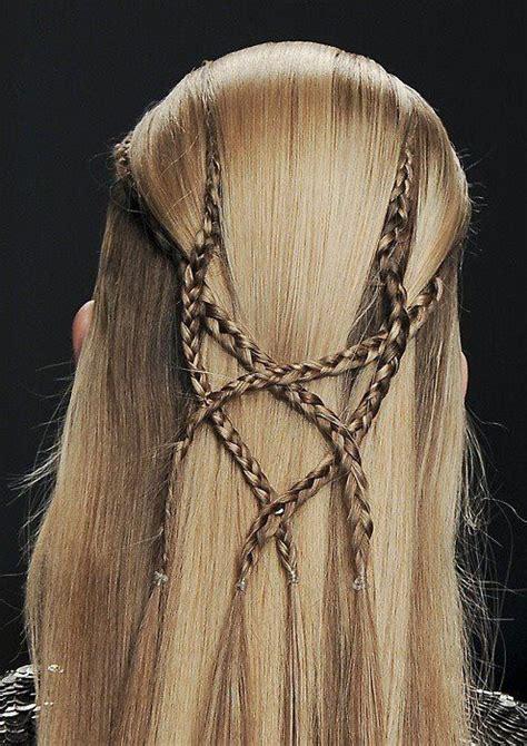 men braid medieval elven braids hairstyles pinterest creative men and