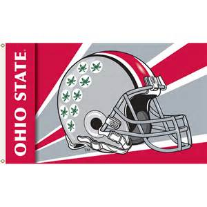 ohio state colors ohio state buckeyes 3ft x 5ft team flag helmet design