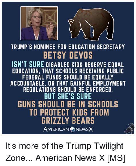 betsy devos and special education trump s nominee for education secretary betsy devos isn t