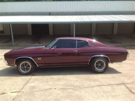 purchase   chevelle ss  number matching