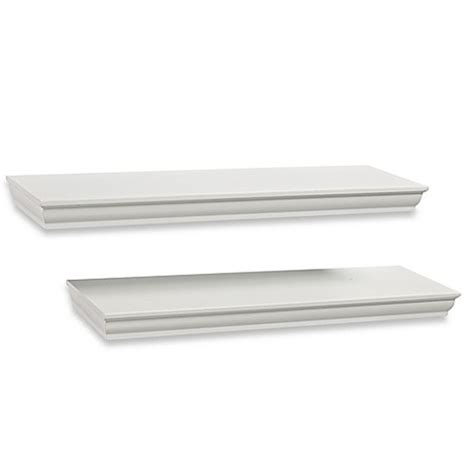 simple floating shelves real simple 174 traditional floating shelves set of 2 bed