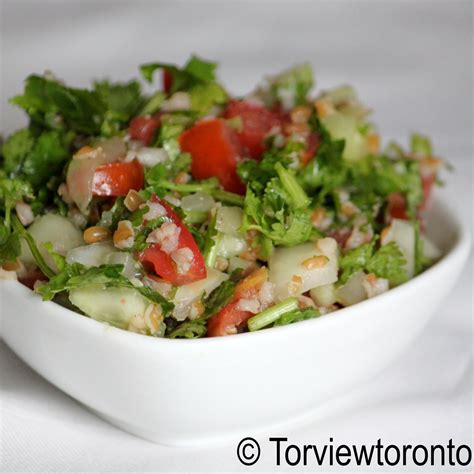 torviewtoronto bulgur wheat salad with vegetables tabbouleh