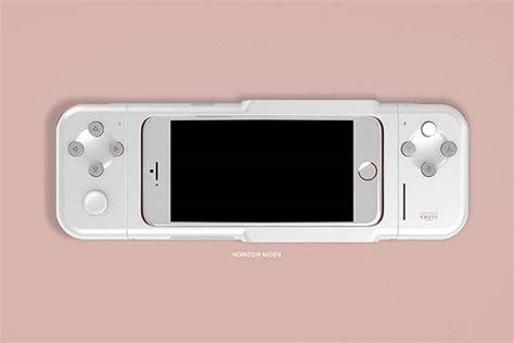 nintendo cross concept iphone game controller gadgetsin