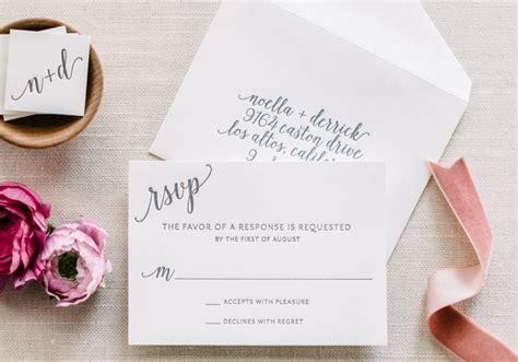Wedding Invitation Reply Card Etiquette