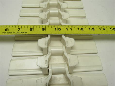 Belt Table White rex rexnord 882 white plastic table top conveyor chain