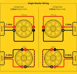 subwoofer speaker amp wiring diagrams kicker 174