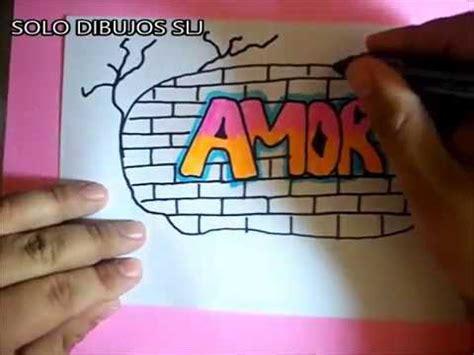 imagenes de love en graffiti como dibujar graffitis de amor 5 graffiti como desenhar