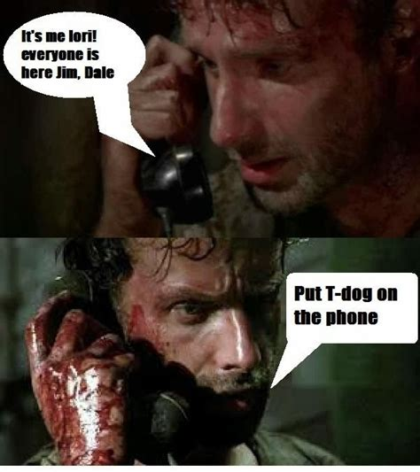 The Walking Dead T Dog Meme - cassie carnage s house of horror return of the funniest