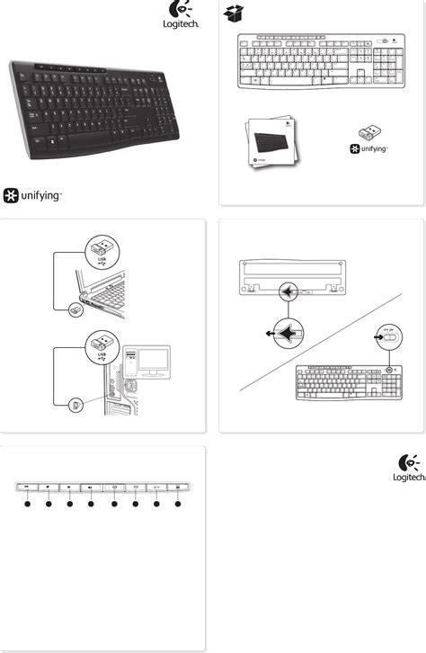 Keyboard Manual Laptop logitech computer keyboard k270 manual