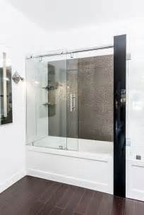 Shower Bath Enclosure Best 25 Tub Glass Door Ideas On Pinterest Shower Tub
