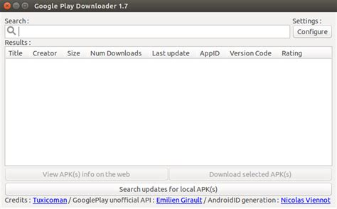 tutorialspoint ubuntu how to download apk files from google play store on linux