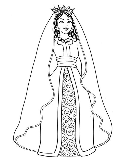 coloring pages of the queen queen coloring pages download and print for free