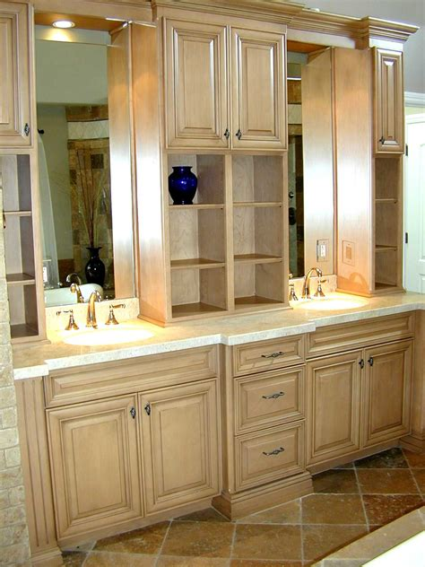 custom bathroom wall cabinets custom bathroom wall cabinets with traditional red
