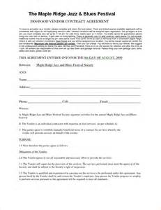 event vendor agreement template 3 vendor agreement templatereport template document