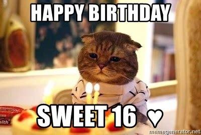 Sweet 16 Meme - happy birthday sweet sixteen memes