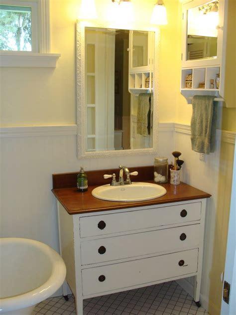 Diy Bathroom Vanity From Dresser by Diy Dresser To Vanity The Owner Builder Network