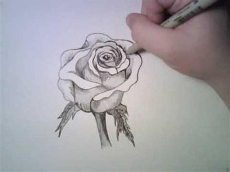 imagenes de rosas en 3d a lapiz c 243 mo dibujar a l 225 piz una rosa dibujos a lapiz
