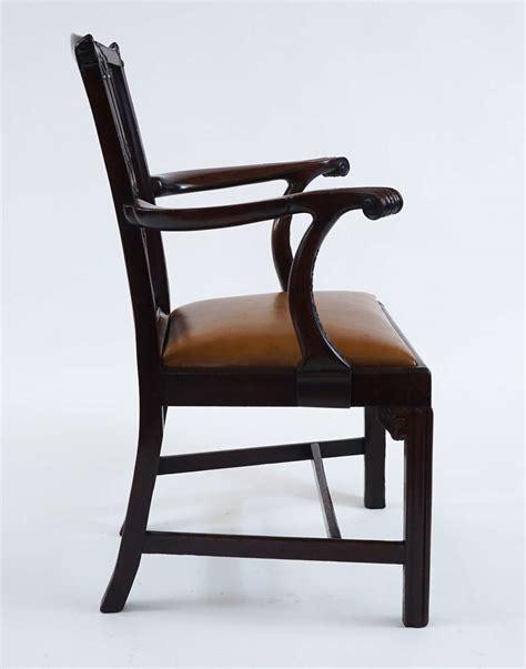mahogany armchair fine gothic chippendale mahogany armchair england circa 1770 at 1stdibs