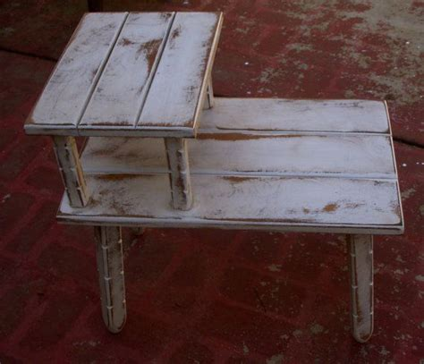shabby table furniture cottage chic vintage upcycled