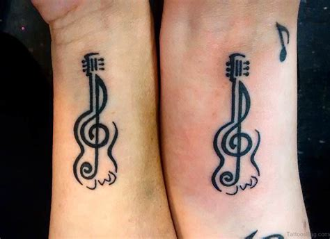 guitar tattoo designs free 34 guitar wrist tattoos