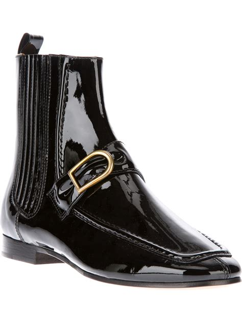 marant patent chelsea boots in black lyst