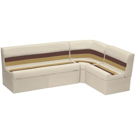 wise deluxe pontoon furniture wise deluxe pontoon 55 quot back rail seating group 612217