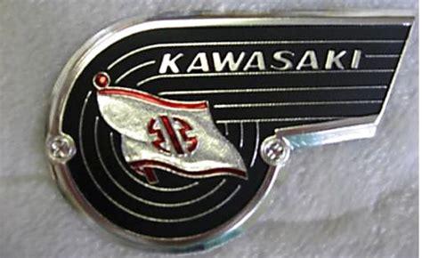 kawasaki emblem h2 adorned with traditional kawasaki emblem