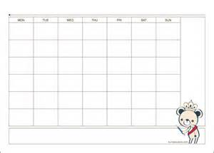 kuma printable monthly planner a4 size kuma couture