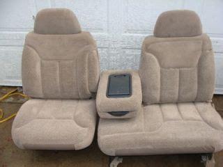 silverado bench seat 88 98 chevy silverado 60 40 front bench seat tan new