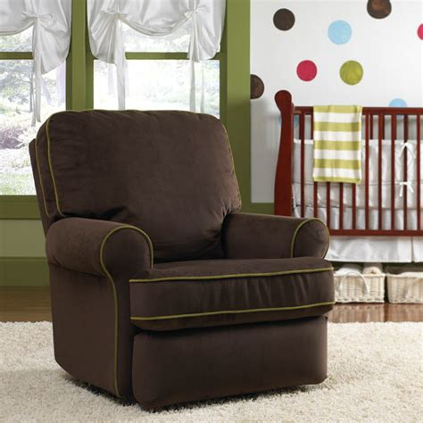 Best Nursery Rocker Recliner by Best Chairs Tryp Upholstered Swivel Glider Recliner