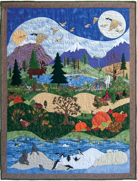 Landscape Quilting Material 505 Best Images About Quilts On