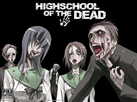 anime high school of the dead manganimes highschool of the dead