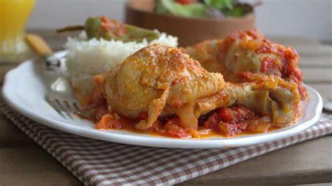 soulef cuisine la recette du poulet basquaise rapide et facile par