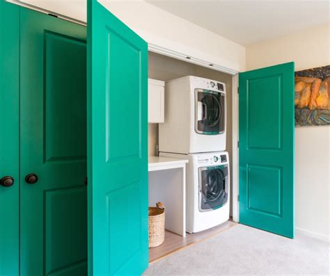 16 Laundry Closet Designs Ideas Design Trends Laundry Closet Door Ideas