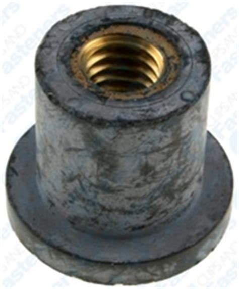 Metric Threaded Rubber Bumpers by Rubber Nut Insert 5 16 18 Thread