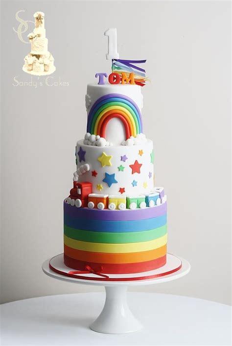 roundup  rainbow cake tutorials  cake school