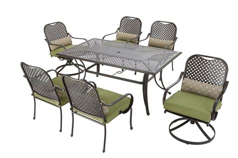 fall river 7 patio dining set hton bay fall river 7 patio dining set the home