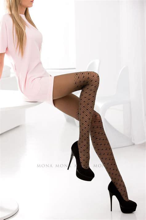patterned tights for big legs ilia 21 tights pattern woman legs legwear