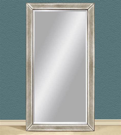 beaded leaner mirror bassett mirror murano beaded antique leaner mirror in