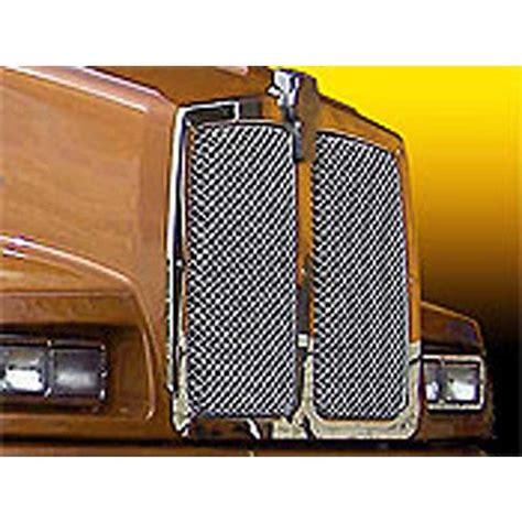 kenworth aftermarket accessories kenworth grilles inserts big rig chrome shop semi truck