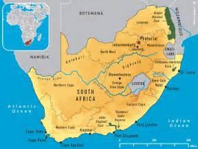 South Africa Map by Ellas Blogg Dagbok Fr 229 N Min Resa Med Familjen